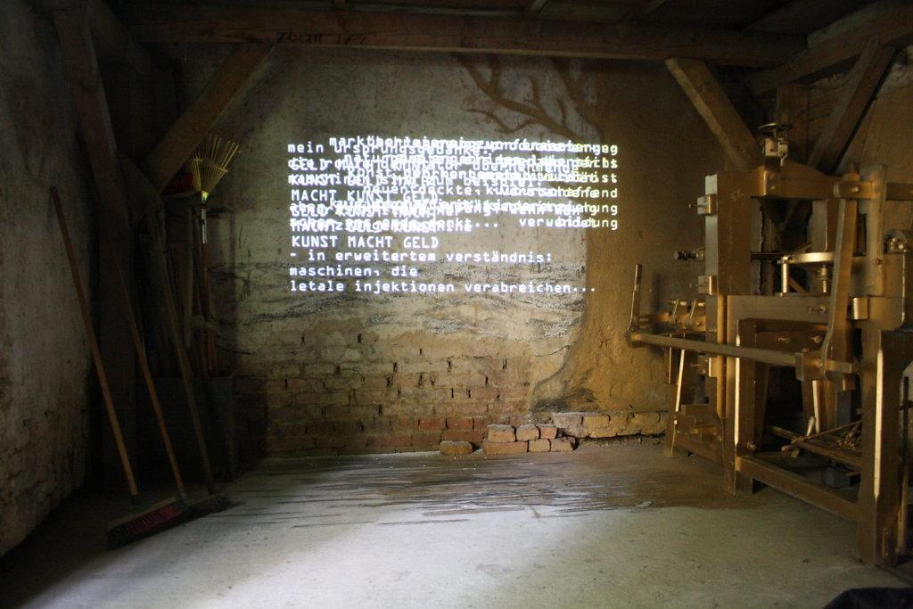 Installation maschine:mensch